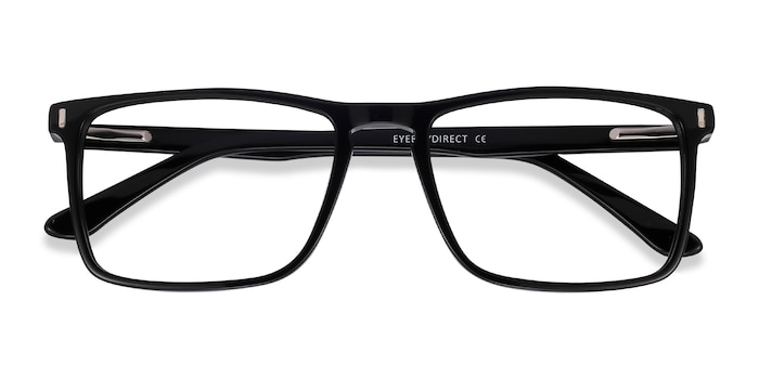Black Arise -  Acetate Eyeglasses