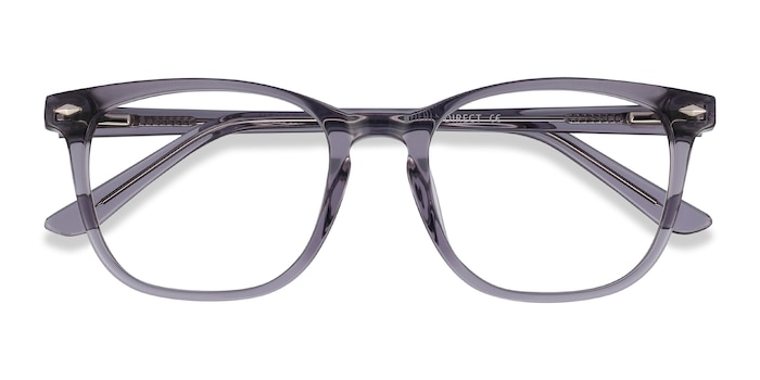 Clear Gray Honor -  Acetate Eyeglasses