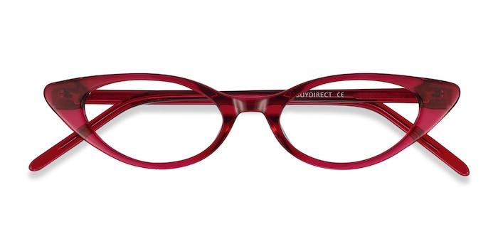 Raspberry Hush -  Colorful Acetate Eyeglasses