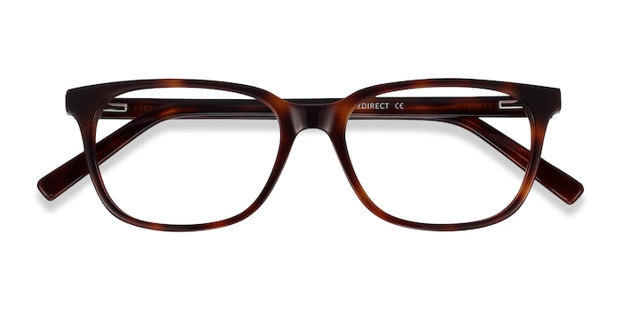 Brown Tortoise Peruse -  Acetate Eyeglasses