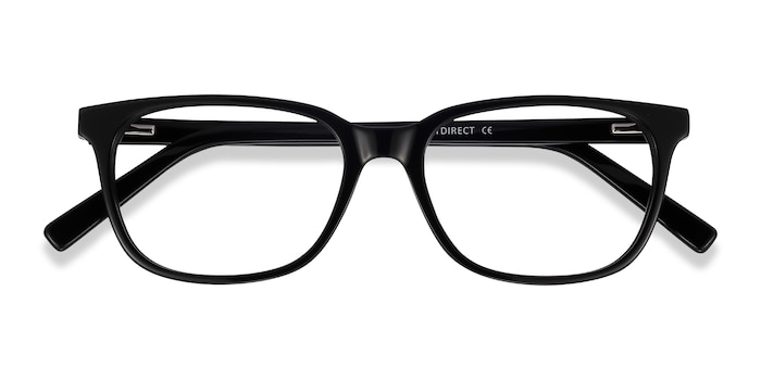 Black Peruse -  Acetate Eyeglasses