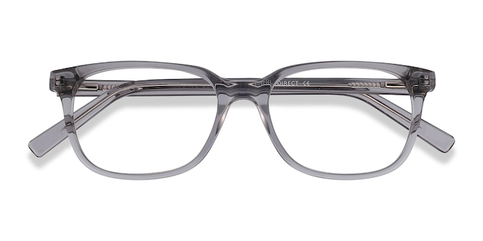 Clear Gray Peruse -  Acetate Eyeglasses