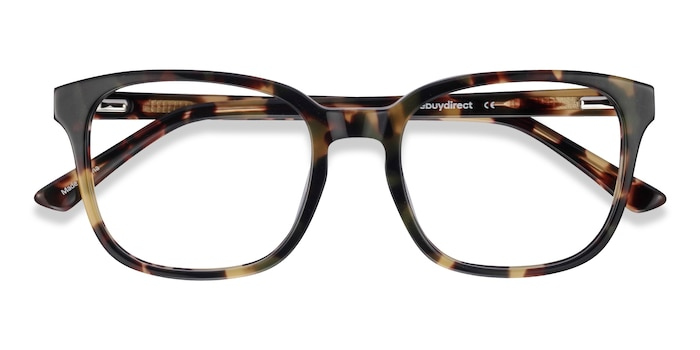 Green Tortoise Tower -  Designer Acetate Eyeglasses