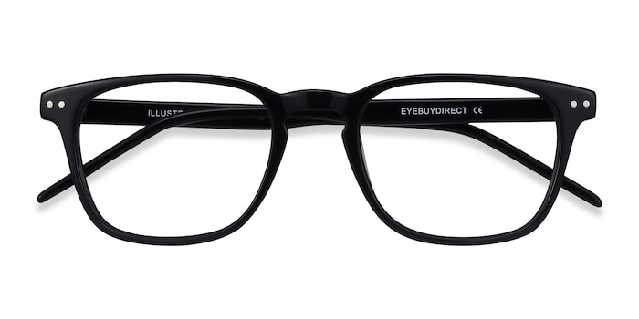 Black Illustrate -  Acetate Eyeglasses