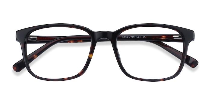 Dark Tortoise Longway -  Acetate Eyeglasses