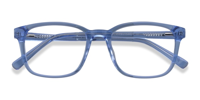 Blue Longway -  Colorful Acetate Eyeglasses