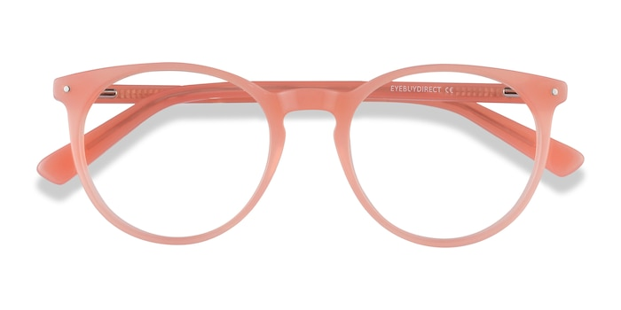Pink Orange Fleury -  Colorful Acetate Eyeglasses