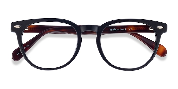 Black Maeby -  Acetate Eyeglasses