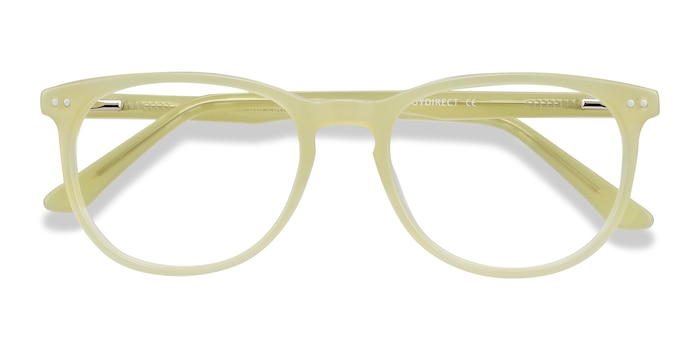 Lime Green Cherbourg -  Colorful Acetate Eyeglasses