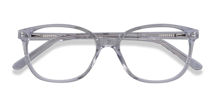 Clear Thelma -  Classic Acetate Eyeglasses