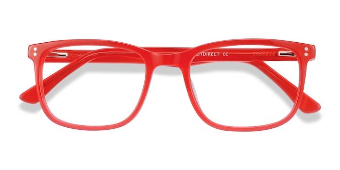 Red Lugano -  Fashion Acetate Eyeglasses