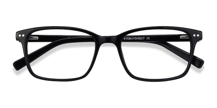 Black Basel -  Acetate Eyeglasses