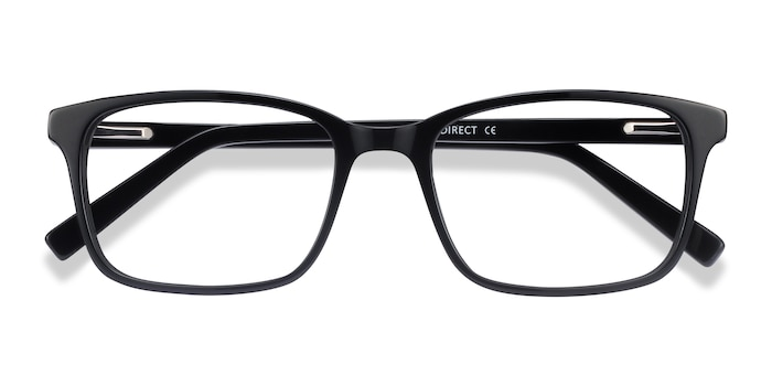 Black Clipperton -  Acetate Eyeglasses