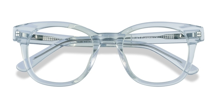 Clear Blue Lighthouse -  Colorful Acetate Eyeglasses