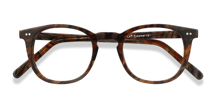 Marbled Havana Ona -  Fashion Acetate Eyeglasses