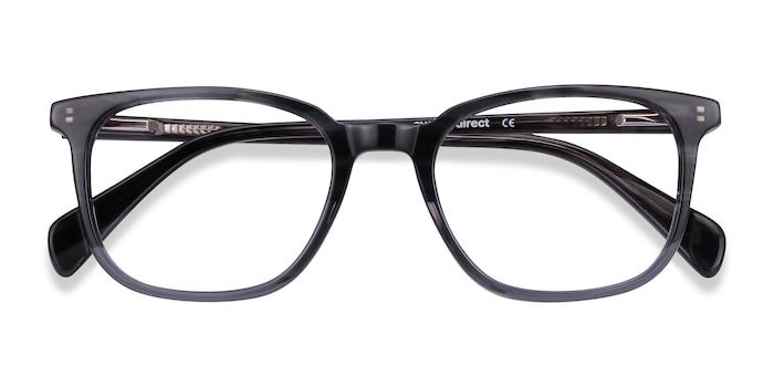 Gray Striped Howie -  Acetate Eyeglasses