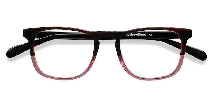 Brown Purple Ville -  Acetate Eyeglasses
