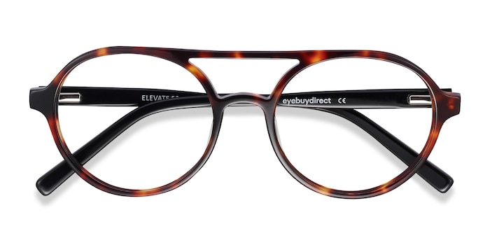 Tortoise Elevate -  Fashion Acetate Eyeglasses