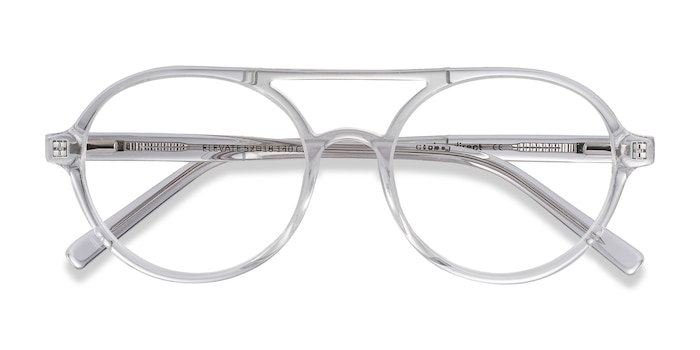Clear Elevate -  Fashion Acetate Eyeglasses