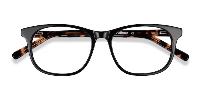 Black Steps -  Acetate Eyeglasses