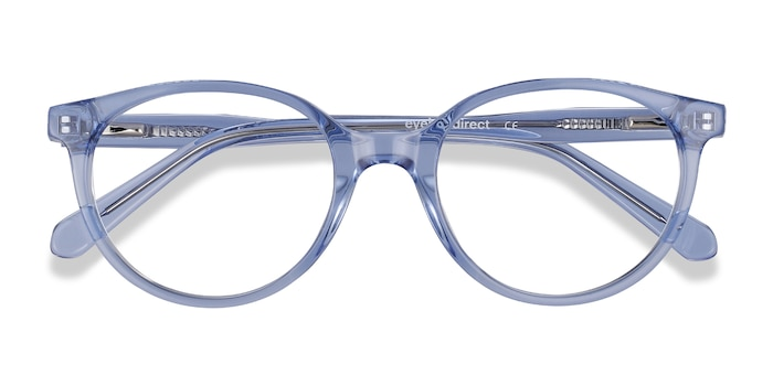 Clear Blue Trust -  Acetate Eyeglasses