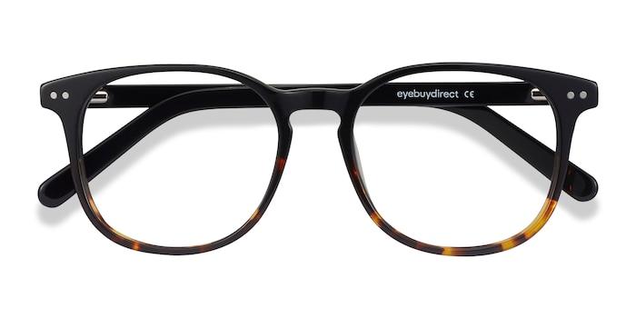 Black Tortoise Ander -  Geek Acetate Eyeglasses