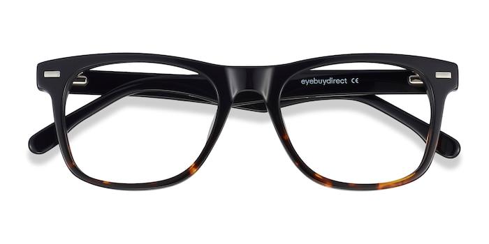 Black Tortoise Caster -  Acetate Eyeglasses