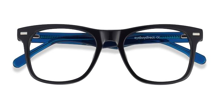 Black Caster -  Acetate Eyeglasses
