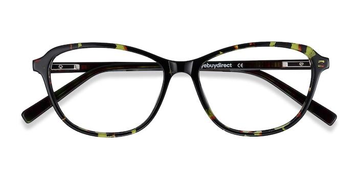 Green Floral Ciencia -  Acetate Eyeglasses