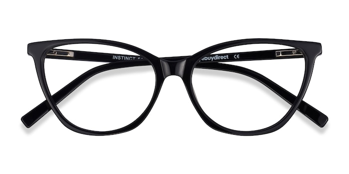Black Instinct -  Acetate Eyeglasses