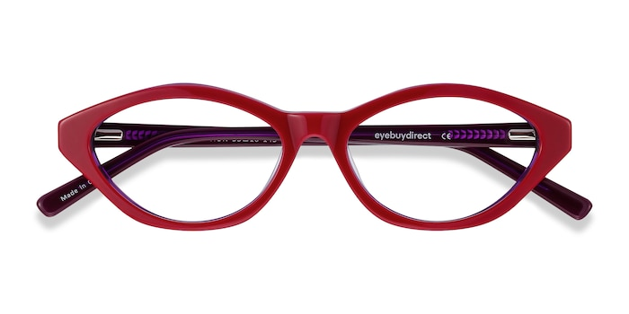 Raspberry & Purple Passion -  Fashion Acetate Eyeglasses