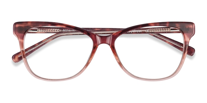 Orange Rosalie -  Colorful Acetate Eyeglasses