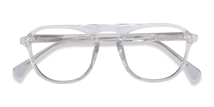 Clear Ida -  Fashion Acetate Eyeglasses
