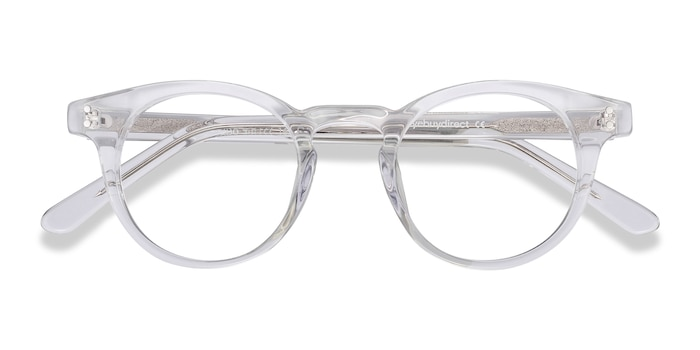 Clear Flora -  Fashion Acetate Eyeglasses