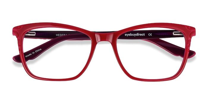 Raspberry Pink Hedera -  Colorful Acetate Eyeglasses