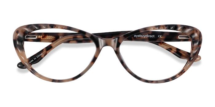 Ivory Tortoise Persona -  Vintage Acetate Eyeglasses