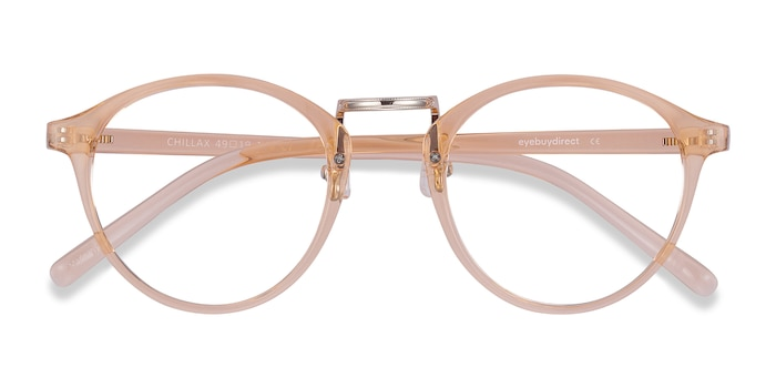 Clear Melon Chillax -  Colorful Metal Eyeglasses