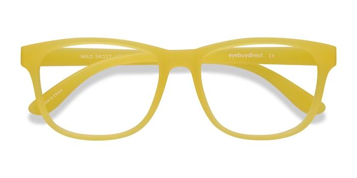 Jaune Milo -  Coloré Plastique Lunettes de Vue