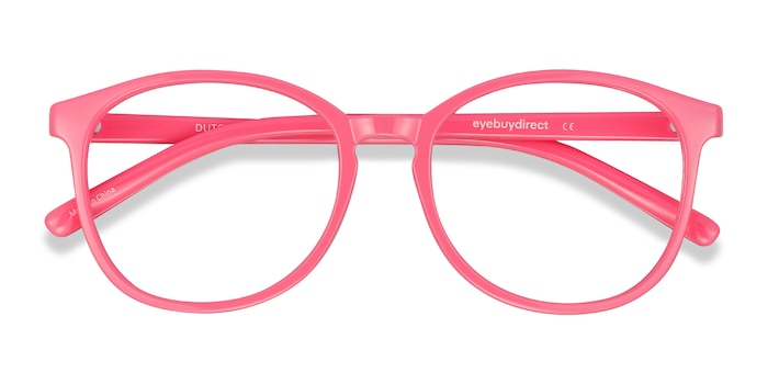Neon Pink Dutchess -  Colorful Plastic Eyeglasses