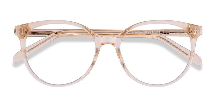 Clear Melon Nala -  Colorful Acetate Eyeglasses