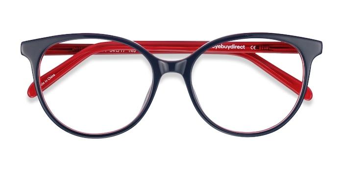 Navy & Red Patriot -  Acetate Eyeglasses