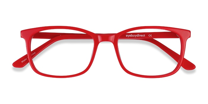 Red Equality -  Acetate Eyeglasses