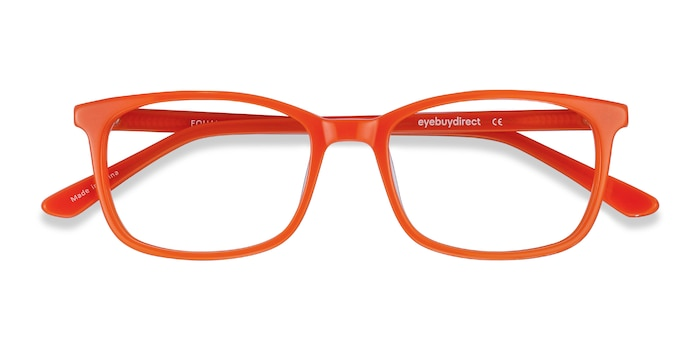 Orange Equality -  Acetate Eyeglasses