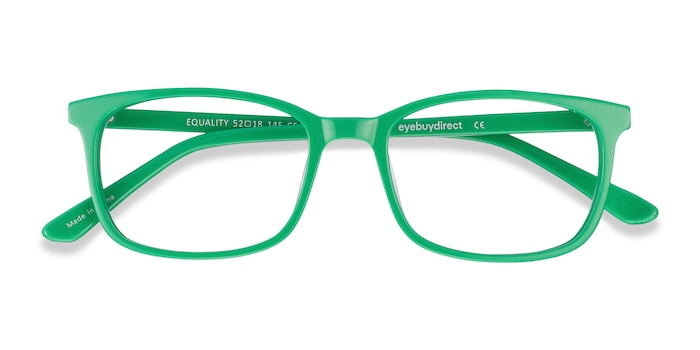 Green Equality -  Colorful Acetate Eyeglasses