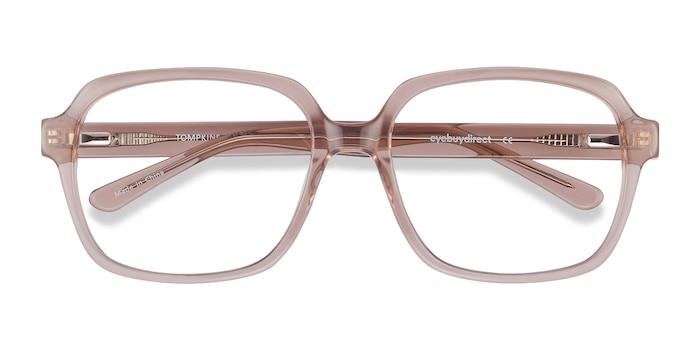 Clear Brown Tompkins -  Fashion Acetate Eyeglasses