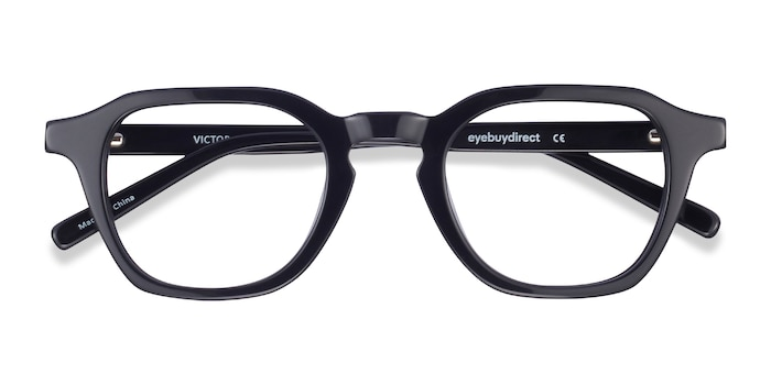 Black Victor -  Geek Acetate Eyeglasses