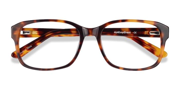 Tortoise Tobias -  Geek Acetate Eyeglasses