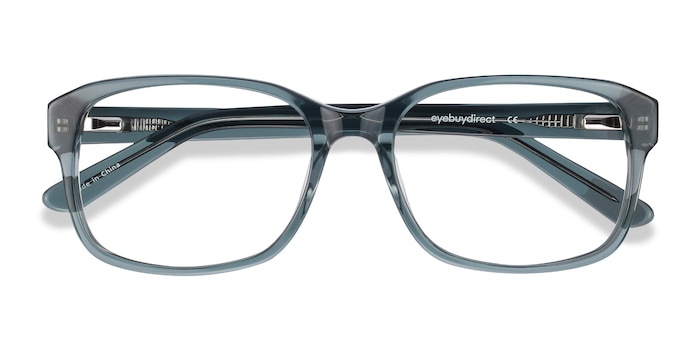 Clear Gray Tobias -  Geek Acetate Eyeglasses