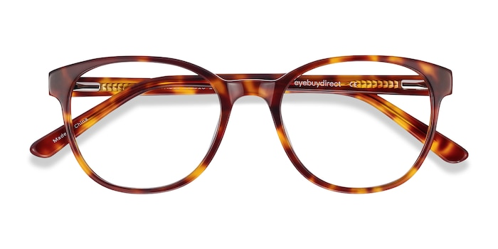 Tortoise Gable -  Acetate Eyeglasses