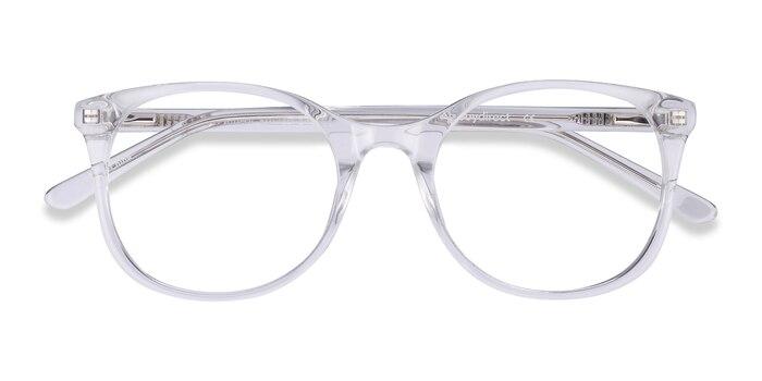 Clear Greta -  Acetate Eyeglasses